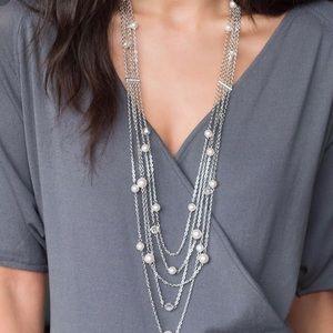 Necklace by touchstone crystals- Swarovski